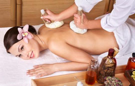 Herbal Compress Massage
